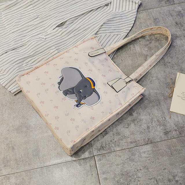 Elephant Canvass  Bucket Bag