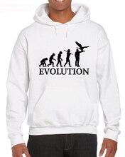 Falconry Evolution Of Man Top Piu Nuovo Modo di Maniche In Cotone Personalizzato Magliette Hoodies Sweatshirt