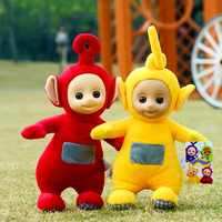 Hot Sale Teletubbies Baby Doll Cartoon Movie Plush Toys Kids Toys With 3D Face Gift For Children