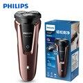 100% оригинальная Электробритва Philips S1060 с тремя плавающими головками, вращающаяся перезаряжаемая моющаяся электрическая бритва для мужчин