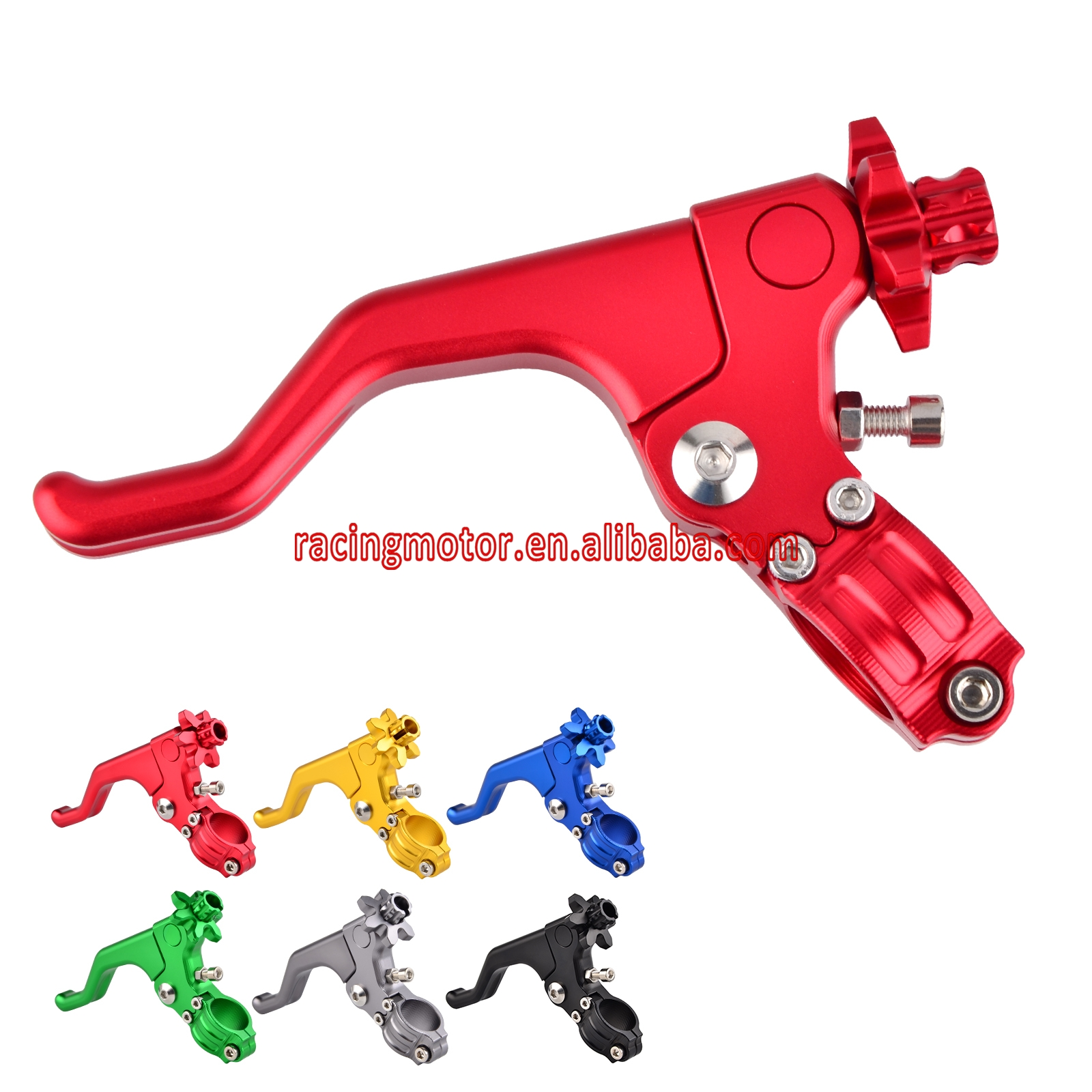 22MM 7/8 CNC Short Stunt Clutch Lever Assembly For CB500X CB500F CB500 F/X CB400 Super Four CBR600RR CBR600 RR motocross mx dirt bike 22mm 7 8 handlebar cnc short stunt clutch lever perch assembly 6 color options