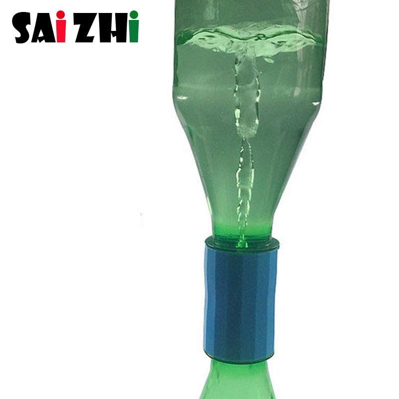 Saizhi 1 pièces bricolage Vortex affichage développement intellectuel tige jouet Science expérience Kit enfants laboratoire ensemble cadeau d'anniversaire SZ3286