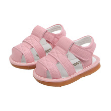 2019 Summer Baby First Walkers 6-18 month Shoes Infant Girl Boy Soft Bottom Beach Closed Toe