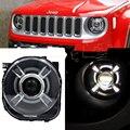 Para 2015-2017 Jeep Renegado HID Faros LED con DRL y Proyector Del Bi-xenón Para Jeep Renegado HID faros con LED DRL