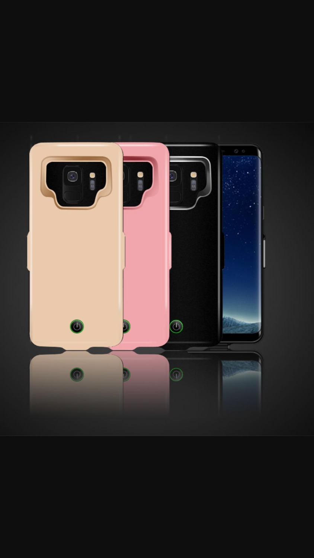 Pour Samsung galaxy S8 S8 plus 7000 mah Batterie Cas Banque D'alimentation Rechargeable De Sauvegarde Couverture Chargeur de Batterie Externe