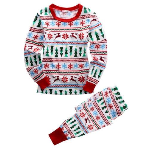 Pyjama classique fée de noël   Flocon de neige, costume de nuit assorti pour famille, vêtements de nuit, pour enfant ou maman Papa, cadeau de noël, photographie