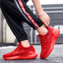 Rommedal Couple Sneakers Solid Lace Up Running Shoes Woman Man Comfortable Air Sneakers Unisex Women Men Footwear Drop Shipping