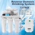 5 bühne RO Umkehrosmose System Trinkwasser Filter Purifier Küche Wasser Filter Membran System Filtration Mit Wasserhahn