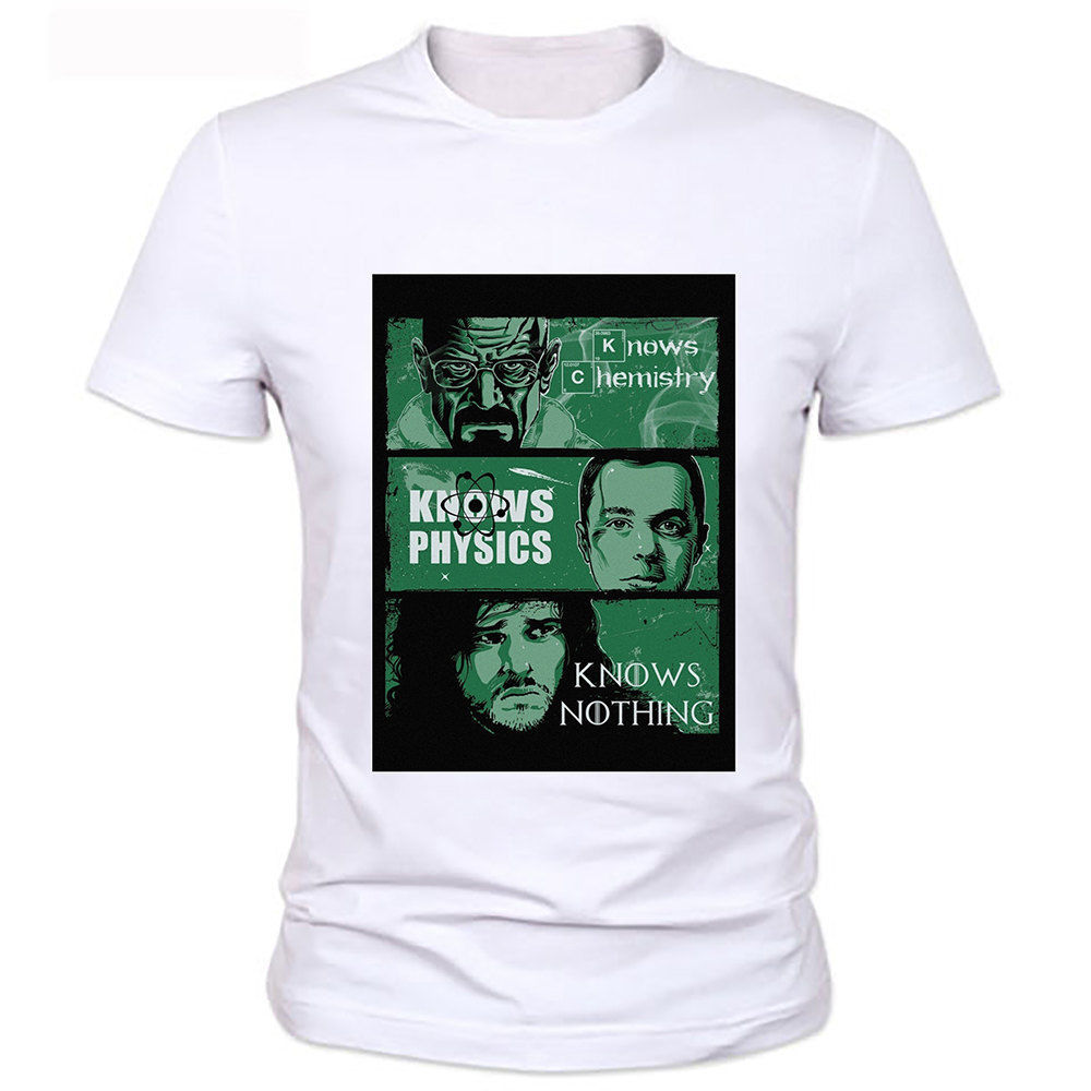 Breaking Bad The Big Bang Theory Game of thrones Funny Joke Men T Shirt Tee