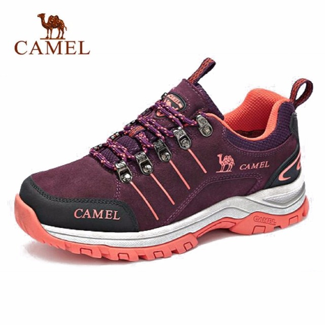 Camel 2018 New Women's Outdoors Shock-absorption Anti-skidding Low Hiking Shoes A73303696