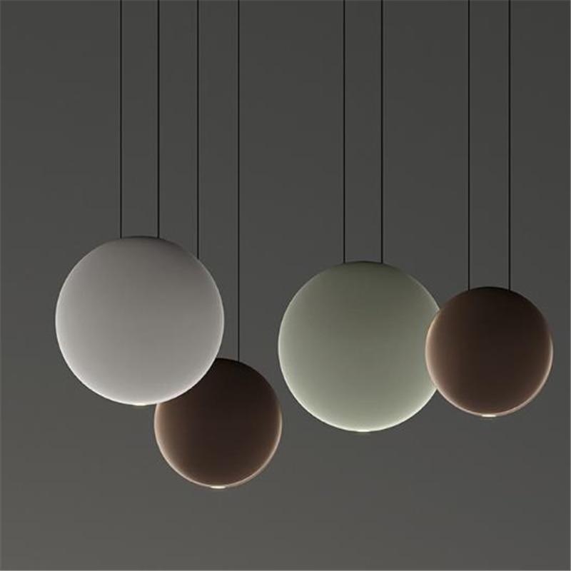 Nordic Creative Loft Designer Cosmos Chandelier Modern Art Concise Bedroom Dining Room Led Hanging Light Free Shipping