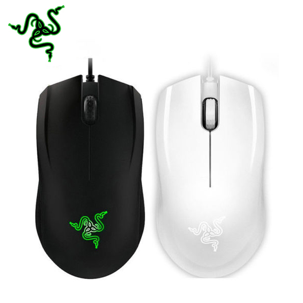Razer Abyssus 2014 3500DPI Gaming Mouse Wired Black/White Ergonomics Gamer Mice i rocks im3 we usb 2 0 wired 3500dpi optical gaming mouse w backlight white