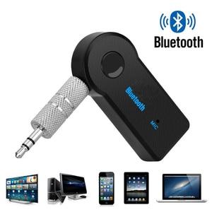 Image 2 - Draadloze Bluetooth voor Auto Muziek Audio Stereo 3.5mm Bluetooth Ontvanger Adapter Aux Voor Hoofdtelefoon Reciever Jack Handsfree