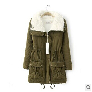 Compare Prices on Khaki Green Parka Jackets Women- Online Shopping ...