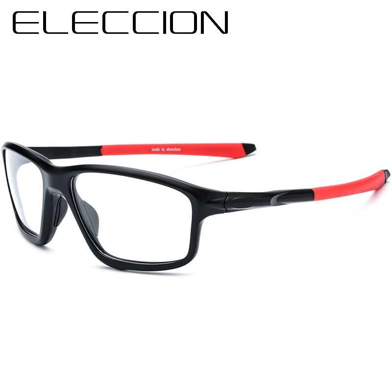 ELECCION Outdoor Sports Style Myopia Frames Men Eyewear Optical Prescription Spectacles Male Bicycle Riding Glasses 17205