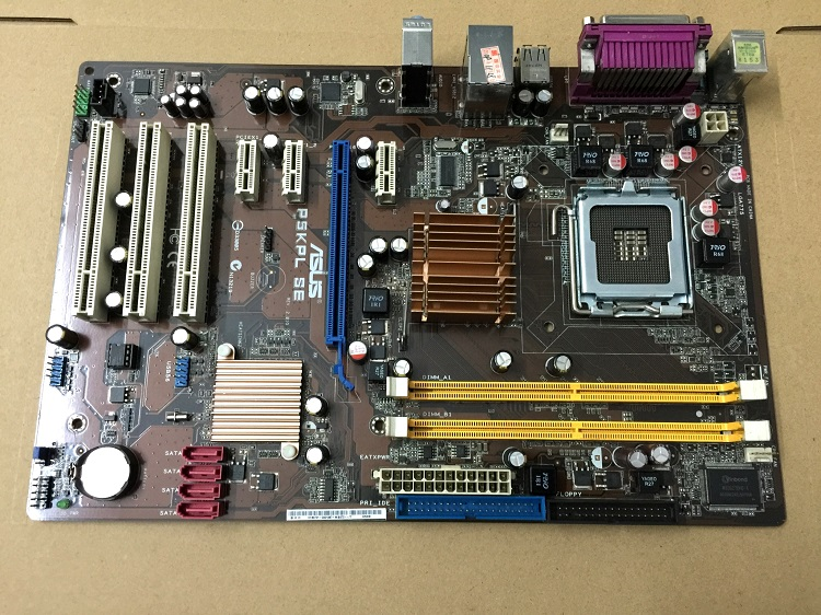 Free shipping 100% original motherboard for Asus P5KPL SE DDR2 LGA 775 Desktop Motherboard женские часы tokyobay tram t105 bu