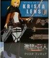 Нападение на Titan Рисунке Игрушки Криста Ленц DXF Атаку Титан Пвх Фигурку Shingeki нет Kyojin Рисунок