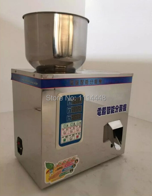 Tea Packing Machine Tablet Weighing Machine Granule Packing Machine 2-100g