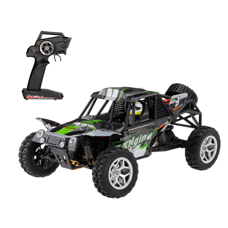 2.4G 4WD 1/18 Brush Electric RC Car 18429 high speed remote control car Waterproof Electric RTR Desert Buggy RC Car toy kid gift