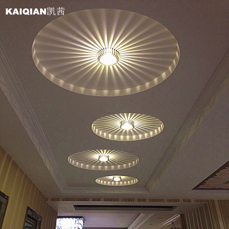 creative LED corridor porch lamp ceiling lamps downlight spotlights for home SD135