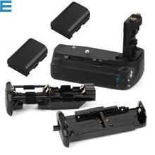 BG-E9 Батарейная ручка+ 2 шт. LP-E6 Аккумуляторы для Canon EOS 60D и 60Da камеры