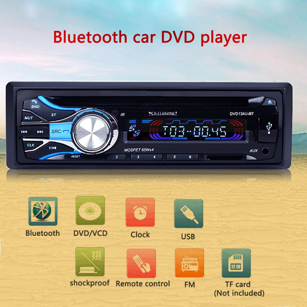 Car Radio Bluetooth fm transmitter Car CD Player Supplies Audio Radio MP3 Card Host Video Autoradio vehicle electronics