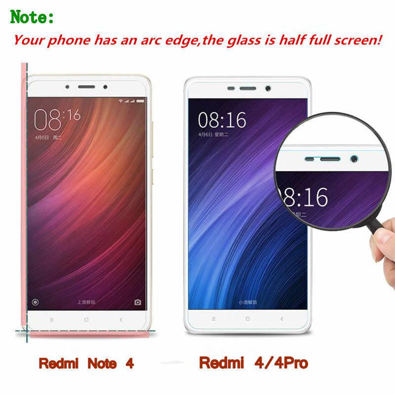Tempered Glass Đối Với Xiao mi Red mi LƯU Ý 3 5 Pro Chính Thức Toàn Cầu Phiên Bản 3 S 3X4 2 mi 5 4C 4 s Max mi 5 s màn hình bìa bảo vệ 9 H trên