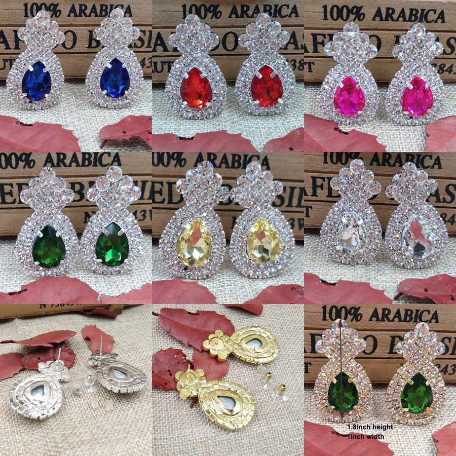 earring silver color