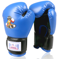 2016 New Fitness PU Leather Child Kid MMA Kick Boxing Gloves Breathable Fighting Training Punching Bag