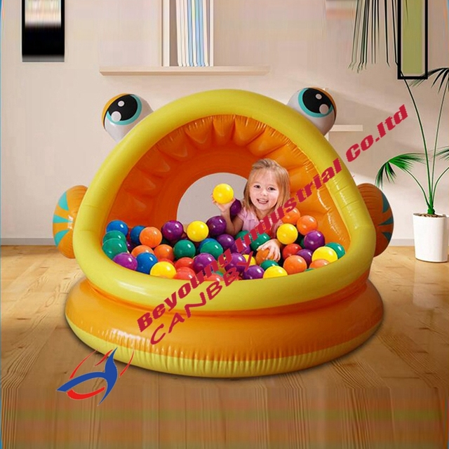 Intex Lazy Fish Shade Baby Pool Inflatable Kiddie Swimming Pool With Canopy  sc 1 st  AliExpress.com & Intex Lazy Fish Shade Baby Pool Inflatable Kiddie Swimming Pool ...