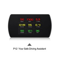 OBD GPS Head Up Display Digital Car Speed Projector On board Computer OBD2 Speedometer