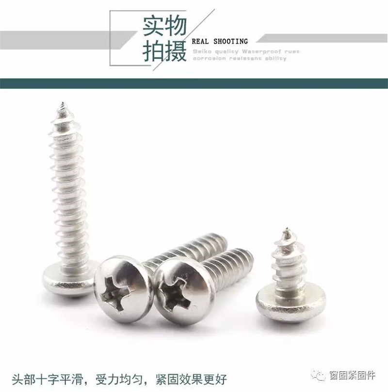 NINDEJIN 20//55pcs Cross Recessed Truss Head Self-tapping Screw 304 Stainless