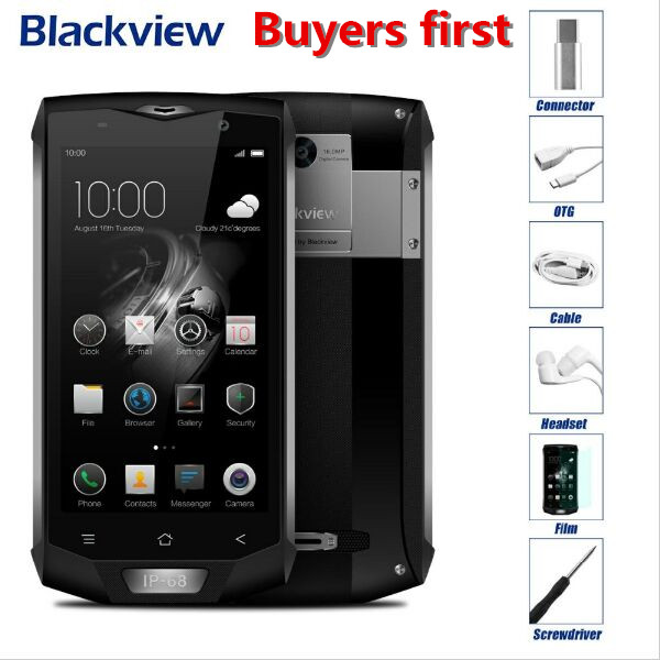 Blackview BV8000 Pro 4G Mobile Phone 5 0 MTK6757 Octa Core Android 7 0 6GB RAM