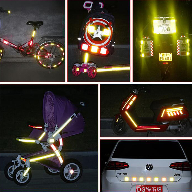 5cmx50m Reflective Tape Sticker For Bicycle Protection Bicycle Decals Stickers Protection For Bicycles Stickers 5