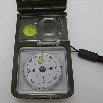 10 in 1 LED Military Camping Survival Compass Multifunction Outdoor black Whistle Compass Thermometer High Quality 8
