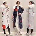 Nueva chaqueta de Invierno de las mujeres 2016 Algodón debajo de la Mujer parka Warm Coat para Las Mujeres Chaqueta de Alta Calidad 627