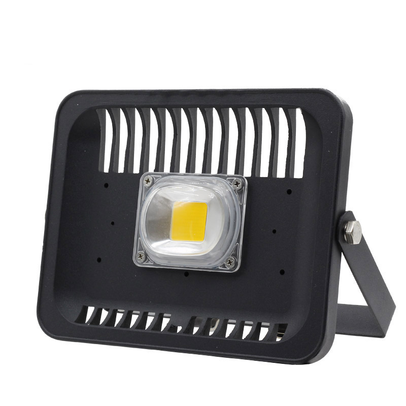 LED Flood Light IP65 Waterproof Spotlight 30W 50W 100W 110V 220V LED COB Flood Light For Square Wall Garden Outdoor Projector [mingben] led flood light projector ip65 waterproof 30w 50w 100w ac 220v 230v 110v led floodlight spotlight outdoor wall lamp