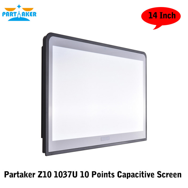 Partaker Z10 14 Inch C1037U Embedded Installation 10 Points Capacitive Touch Screen