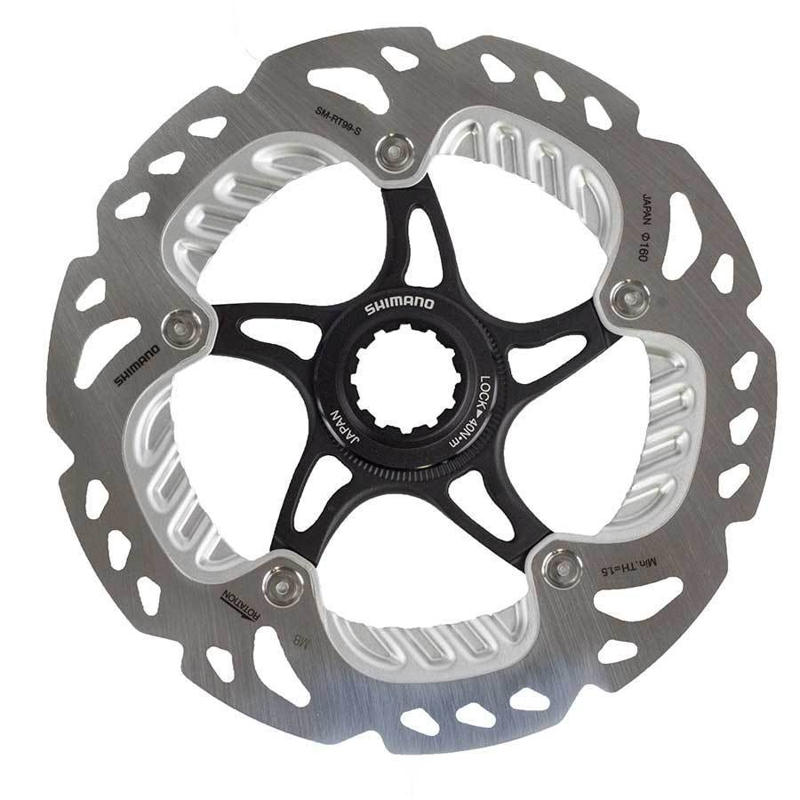 1 pièces 2015 shimano Saint SM-RT99 160mm frein Rotor disque centre serrure ice-tech - 4