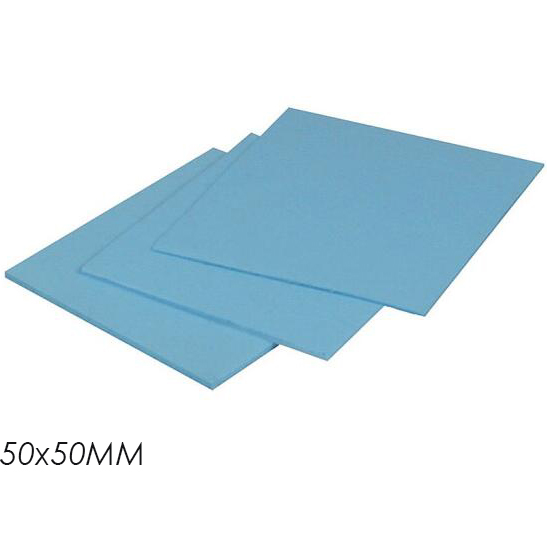 Original Arctic Thermal Pad 6.0 W/mk Conductivity 0.5mm 1.0mm 1.5mm Thickness High Efficient Thermal Pad 50x50mm Complete Range Of Articles