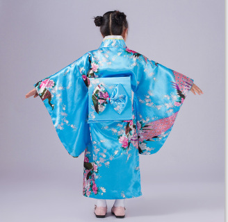 2017 жапондық Kimono Vintage түпнұсқалық - Ұлттық киім - фото 5