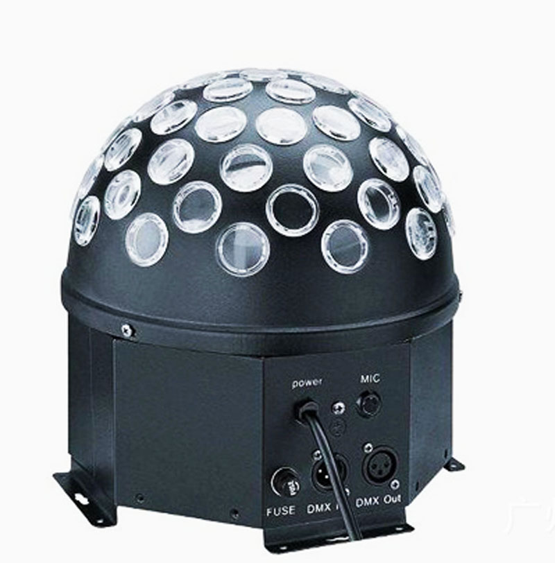 50 W LED Boule Magique Lumière Rotation Cristal Stage de Lumière Lampe Pour Disco KTV Club AC90-240V