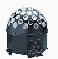 50W LED Magic Ball Light Rotation Crystal Stage Light Lamp For Disco KTV Club AC90 240V