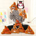 20cm Cute Poo Shape Emoji Pillow Cushion Smiley Face Pillow Sofa Bed Home Decorative Pillow Almofada Toy Doll Christmas Gifts