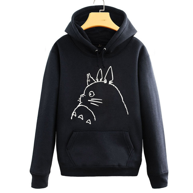 My Neighbor Totoro – Totoro Signature Hoodie Sweater – 4 Colors Available