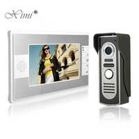 New Arrival 7 Inch Color Screen Video Door Phone Door Intercom System IR Night Version Wired Door Bell 16 Rings Video Door Phone