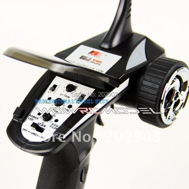 Flysky Newest FS-GT2B FS GT2B 2.4G 3CH Gun RC Controller /w receiver, TX battery, USB cable, handle –Upgraded FS-GT2 GT2