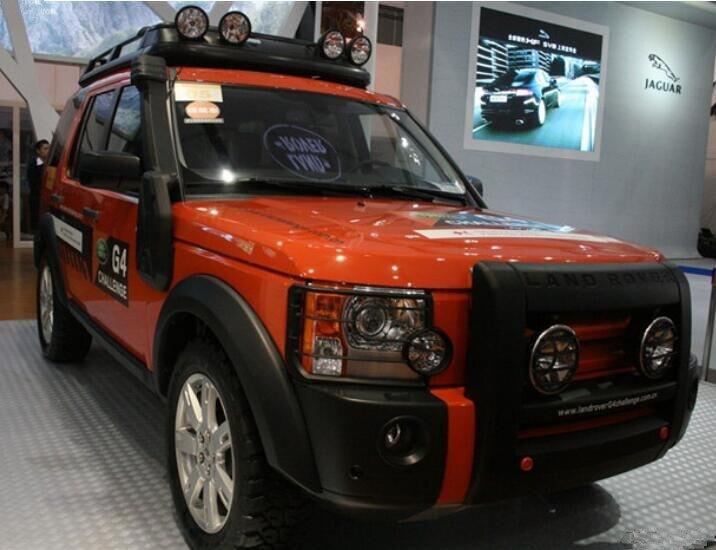 Auto ABS Faro Anteriore + Posteriore Luce Posteriore di Copertura Trim Per Land rover discovery 3 LR3 2004 2005 2006 2007 2008 2009