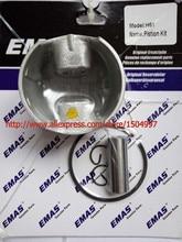 Piston Kit with Pin Rings Clips Set kit for fit Piston Kit fit HUSQVARNAs 61 48*1.5mm