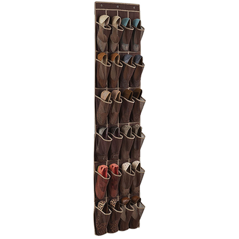 Space Saving Door Hanging Organizer with 24 Pockets for Storage of Shoes Safely 10